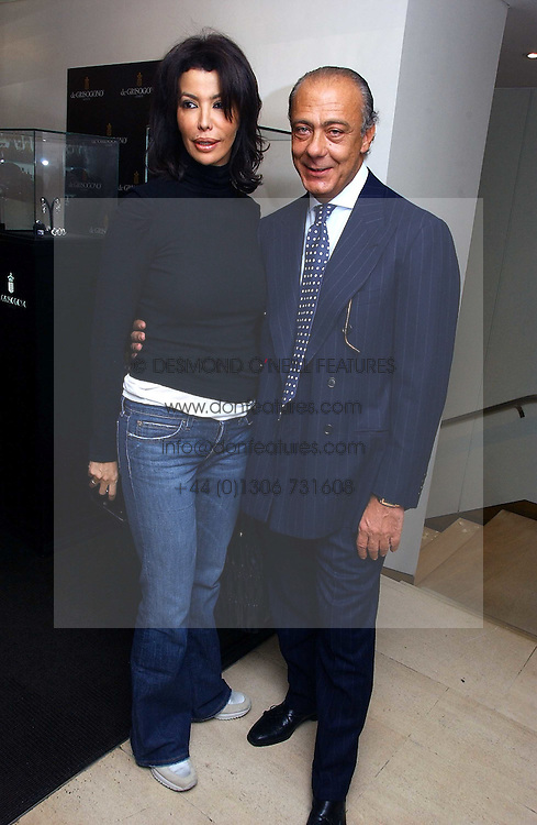 COUNTESS MONTEVERDE and FAWAZ GRUOSI  at a lunch hosted by Fawaz Gruosi to celebrate the launch of De Grisogono's latest watch 'Be Eight' held at Nobu, 19 Old Park Lane, London W1 on 30th November 2006.<br /><br />NON EXCLUSIVE - WORLD RIGHTS