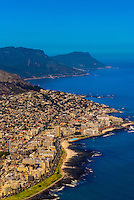 Aerial View, Cape Town, South Africa.