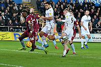 Football - 2018 / 2019 Championship - Swansea City vs Aston Villa<br /> … at the Liberty Stadium.<br /> <br /> Jefferson Montero of Swansea City fails to score <br /> <br /> Credit: COLORSPORT/Winston Bynorth