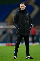 Football - 2020 / 2021 League Cup - Quarter-Final - Everton vs Manchester United - Goodison Park<br /> <br /> Evertons Duncan Ferguson during the pre-match warm-up <br /> <br /> <br /> COLORSPORT/TERRY DONNELLY