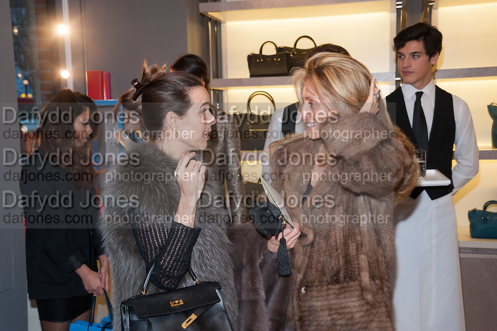 PIA GETTY;, Smythson Sloane St. Store opening. London. 6 February 2012.