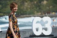 092415 63rd San Sebastian International Film Festival: 'Les Chevaliers Blancs' Photocall