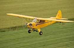 J-3 Cub air to air<br /> <br /> Photo by Matt Cashore