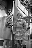 1968 - David Vard Fashion and Neilli Mulcahy Fasion in W.I.Z.O. show.