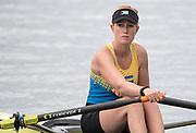 "Rio de Janeiro. BRAZIL.  BAH W1X. Emily MORLEY,  start. 2016 Olympic Rowing Regatta. Lagoa Stadium,<br /> Copacabana,  ""Olympic Summer Games""<br /> Rodrigo de Freitas Lagoon, Lagoa.   Monday  08/08/2016 <br /> <br /> [Mandatory Credit; Peter SPURRIER/Intersport Images]"