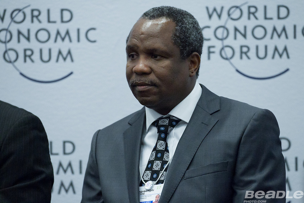 Hlangusemphi Dlamini, Minister of Economic Planning and Development<br /> Office of H.M. the King of Swaziland at the World Economic Forum on Africa 2017 in Durban, South Africa. Copyright by World Economic Forum / Greg Beadle