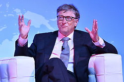 October 26, 2016 - London, London, UK - BILL GATES makes a keynote speech at the Joint Session Grand Challenges and Keystone Symposia ''Translational Vaccinology in Global Health'' conferences, October 26, 2016, London, UK.''....London, UK. (Credit Image: © Ray Tang/London News Pictures via ZUMA Wire)