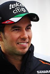 Sergio Perez (MEX) Sahara Force India F1.<br /> 27.10.2016. Formula 1 World Championship, Rd 19, Mexican Grand Prix, Mexico City, Mexico, Preparation Day.<br /> Copyright: Batchelor / XPB Images / action press