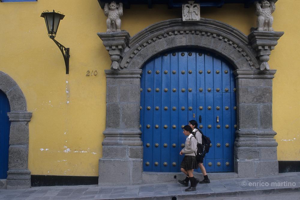 Ayacucho: Casona Jauregui, a old colonial mansion.