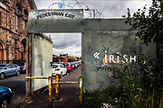 More than forty years ago, I traveled through Belfast, then a battleground of sectarian grievance, and saw the British Army lock the gates that separated Catholic and Protestant neighborhoods. The Berlin Wall has long ago come down, but Belfast's barriers—some made of concrete and topped by barbed wire—are still standing, locked for the night between 3:00 and 10:30 p.m.  © Steve Raymer/National Geographic Creative