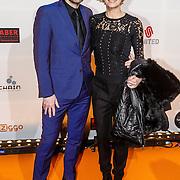 NLD/Amsterdam/20160307 - TV Beelden 2016, Anita Witzier en partner Michel Nillesen