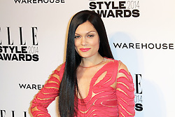 © Licensed to London News Pictures. 18/02/2014, UK. Jessie J, ELLE Style Awards, One Embankment, London UK, 18 February 2014. Photo credit : Richard Goldschmidt/Piqtured/LNP