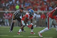 Mississippi Rebels linebacker Denzel Nkemdiche (4) against Vanderbilt Commodores at Vaught-Hemingway Stadium at Ole Miss in Oxford, Miss. on Saturday, September 26, 2015. (AP Photo/Oxford Eagle, Bruce Newman)