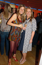 Left to right, ELAINE FATTAL and ANYA HINDMARCH at a party hosted by Elizabeth Saltzman and Harvey Nichols to celebrate the UK launch of New York fashion designer Tory Burch held at the Fifth Floor Restaurant, Harvey Nichols, Knightsbridge, London on 24th May 2006.<br /><br />NON EXCLUSIVE - WORLD RIGHTS