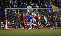 Photo: Mark Stephenson.<br />Birmingham City v Reading. The FA Cup. 27/01/2007.<br />Birmingham's Sebastian Larsson scores from a free kick