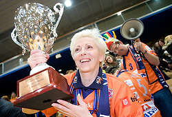 Assistant of General Manager of ACH, Ivanka Mihelcic at finals of Slovenian volleyball cup between OK ACH Volley and OK Salonit Anhovo Kanal, on December 27, 2008, in Nova Gorica, Slovenia. ACH Volley won 3:2.(Photo by Vid Ponikvar / SportIda).