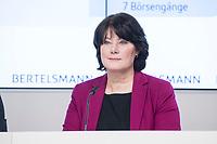 27 MAR 2018, BERLIN/GERMANY:<br /> Anke Schaeferkordt, Geschaeftsfuehrerin der Mediengruppe RTL Deutschland, Bertelsmann Bilanzpressekonferenz, Konzernrepraesentanz Berlin, Unter den Linden 1<br /> IMAGE: 20180327-01-018<br /> KEYWORDS: Anke Schäferkordt