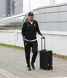 Jurgen Klopp and The Liverpool Football Team fly out of Manchester Airport to Hong Kong on Sunday morning.