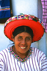Woman With Traditional Hat