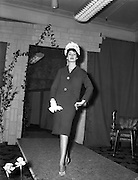 24/02/1961<br /> 02/24/1961<br /> 24 February 1961<br /> Roche's Stores fashion show preview, At Roche's stores Dublin.