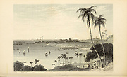 Bombay [Now Mumbai, Maharashtra, India] From the book ' The Oriental annual, or, Scenes in India ' by the Rev. Hobart Caunter Published by Edward Bull, London 1836 engravings from drawings by William Daniell