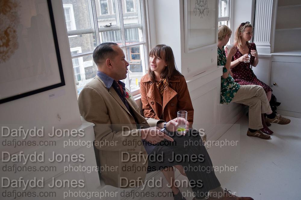 RICHARD DYER; GALEN RILEY, AN EVENING SALON OF ART, POETRY AND BURLESQUE . The Opera Quarter Bar & Supper Club. COVENT GARDEN. London. 28 July 2009