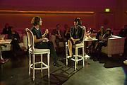 Harriet Quick conducts Q&A with Anna Sofat, Addidi FounderAddidi breakfast, Sketch. London. 11 March 2008 *** Local Caption *** -DO NOT ARCHIVE-© Copyright Photograph by Dafydd Jones. 248 Clapham Rd. London SW9 0PZ. Tel 0207 820 0771. www.dafjones.com.