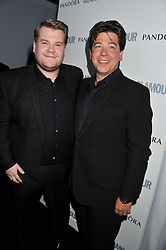 Left to right, JAMES CORDEN and MICHAEL McINTYRE at the Glamour Women of The Year Awards 2011 held in Berkeley Square, London W1 on 7th June 2011.