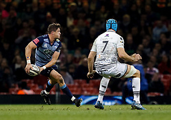 Cardiff Blues' Lloyd Williams<br /> <br /> Photographer Simon King/Replay Images<br /> <br /> Guinness PRO14 Round 21 - Cardiff Blues v Ospreys - Saturday 28th April 2018 - Principality Stadium - Cardiff<br /> <br /> World Copyright © Replay Images . All rights reserved. info@replayimages.co.uk - http://replayimages.co.uk