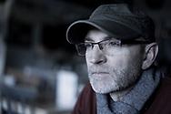 Close up portrait of Tim Kahane