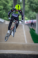 #185 (FERCIOT Marius) FRA at Round 5 of the 2019 UCI BMX Supercross World Cup in Saint-Quentin-En-Yvelines, France