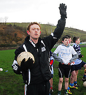 Colm 'the Gooch' Cooper visits AIB Westport & Coaches Rice College