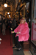 JOCELYN FOX, , The Duchess of Cornwall switches on the Christmas lights at the Burlington Arcade in Piccadilly, London, November 23,  London. 23 November 2011.