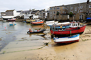 Isles of Scilly, 20 May 2009: View of St Mary's harbour with the tide out. Photo by Peter Horrell / http://peterhorrell.com