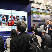 Wes Bergstrom of travel technology europe speaker at at Business Travel Show 2020 and travel technology europe on 26th February 2020, Olympia London, UK.