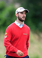 Emilio Cuartero Blanco (ESP) on the 3rd tee during Round 3 of the Northern Ireland Open in Association with Sphere Global & Ulster Bank at Galgorm Castle Golf Club on Saturday 8th August 2015.<br /> Picture:  Thos Caffrey / www.golffile.ie