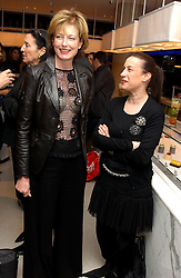Left to right, JULIA PEYTON-JONES and MAUREEN PALEY at a dinner hosted by Cartier to celebrate the opening of the 2004 Frieze Art Fair, held at Yauacha 15-17 Broadwick Street, London W1 on 13th October 2004.<br /><br />NON EXCLUSIVE - WORLD RIGHTS