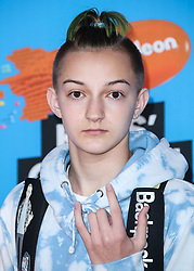 INGLEWOOD, LOS ANGELES, CA, USA - MARCH 24: Nickelodeon's 2018 Kids' Choice Awards held at The Forum on March 24, 2018 in Inglewood, Los Angeles, California, United States. 24 Mar 2018 Pictured: Backpack Kid, Russell Horning. Photo credit: Xavier Collin/Image Press Agency / MEGA TheMegaAgency.com +1 888 505 6342
