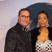 NLD/Amsterdam/20200217-Suriname filmpremiere, Marc Forno en Janice Blok