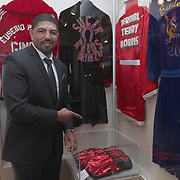 CANASTOTA, NY - JUNE 10:  Inductee Winky Wright poses at the International Boxing Hall of Fame for the Weekend of Champions induction events on June 10, 2018 in Canastota, New York. (Photo by Alex Menendez/Getty Images) *** Local Caption *** Winky Wright