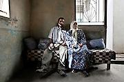 Family Portrait - Al-Bass Camp, Lebanon, Palestinian refugees.