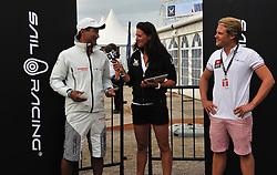 Hannah White interviews  Kazuhiko Sofuko from Yanmar Racing. Photo: Chris Davies/WMRT