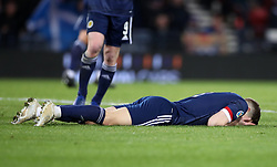 File photo dated 19-11-2019 of Scotland's James Forrest reacts. Issue date: Tuesday June 1, 2021.