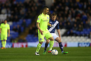 Brighton central midfielder, Beram Kayal (7) during the Sky Bet Championship match between Birmingham City and Brighton and Hove Albion at St Andrews, Birmingham, England on 5 April 2016.