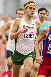 Boston University Terrier Classic indoor track & field meet, Will Geoghehan, Dartmouth, 3:58 mile to win