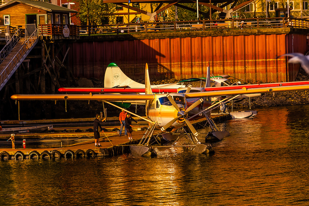 Juneau Harbor Seaplane Base,  Juneau, Alaska, USA