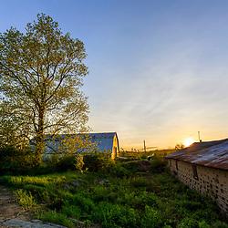 The barn at Harriman Farm in Durham, New Hampshire.