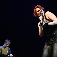 Nederland, Leiden ,13 februari 2010..Voorrondes van het Leids Cabaret Festival 2010..op de foto Suzanne Mateyser..Foto:Jean-Pierre Jans