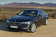 BMW South Africa unveils the new 5 series to African media in George and surrounding areas. Image by Greg Beadle