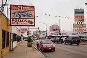 Los Dos Loredos, the Mexican family restaurant owned by Lourdes Alvarez' family in Chicago, Illinois.  (Lourdes Alvarez is featured in the book What I Eat;  Around the World in 80 Diets.)